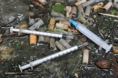 Narkotikai tapo Klaipėdos kasdienybe