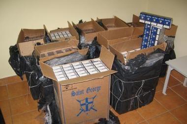 Žadama didinti pinigines baudas už kontrabandą