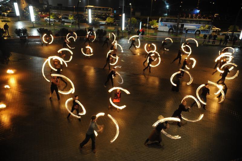 Savaitgalį Vilnius    judės šokio    ritmu