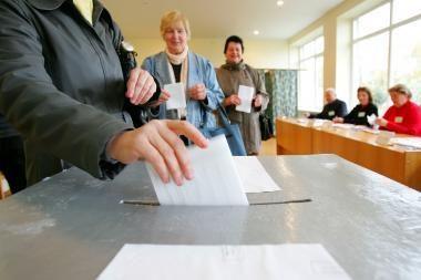 Nuo šiandien rinkimų ir referendumo agitacija uždrausta