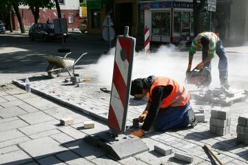 Maironio ir A.Mickevičiaus gatvėse kliūčių neliko