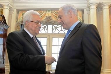 Palestinos ir Izraelio derybos iššaukė taiką?