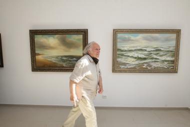 """E.Malinauskas: """"Tapydamas garbinu jūrą"""""""