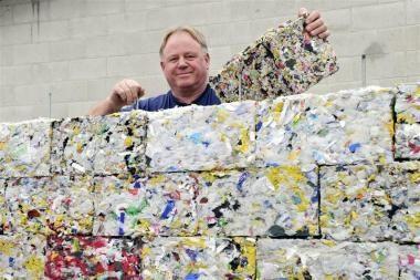 Plytos – iš panaudoto plastiko