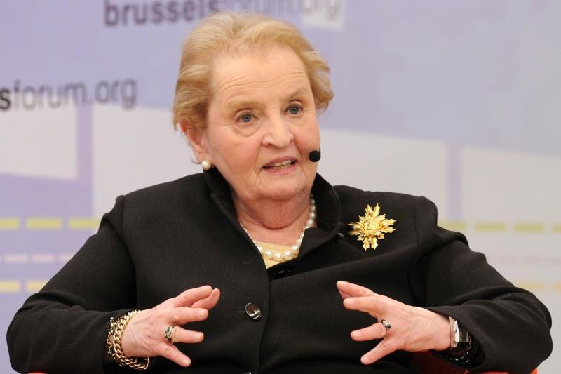 M.Albright: Vilniuje bus atidaryta NDI atstovybė