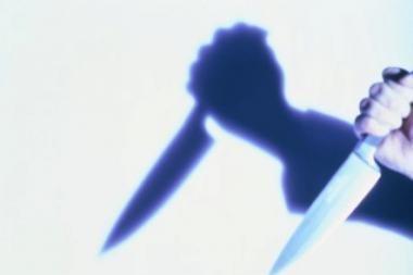Vyrą peiliu sužalojo sugyventinė