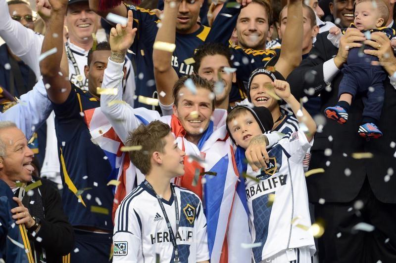 """D. Beckhamas baigė karjerą JAV ir nori grįžti į """"Manchester United"""""""