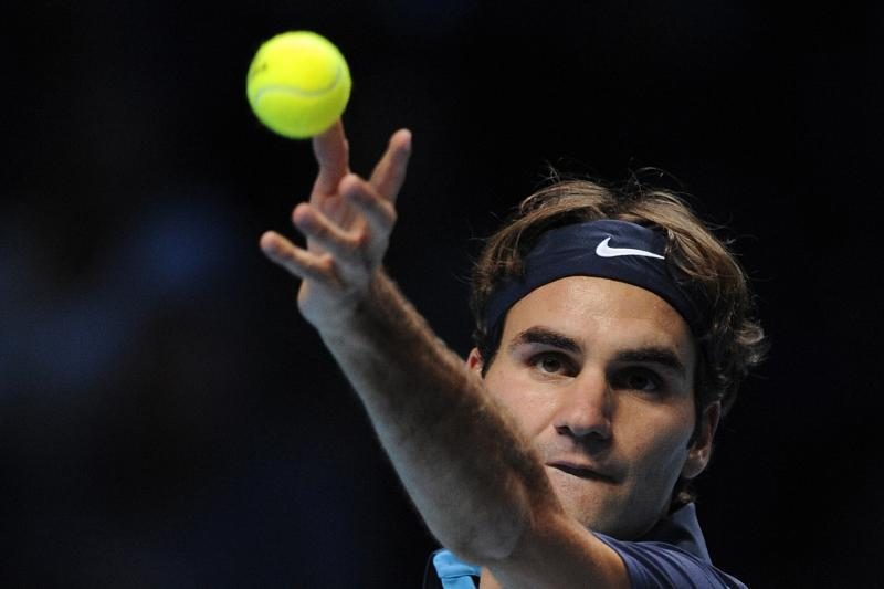 "Šveicaras Rogeris Federeris - ""ATP World Tour Finals"" finale"