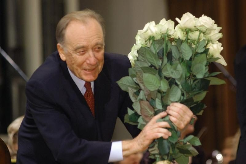 Maestro R. Ščedrinas į savo jubiliejinį koncertą Vilniuje neatvyks