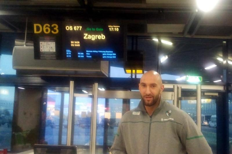Žalgiriečiai vakar atvyko ir įsikūrė Zagrebe