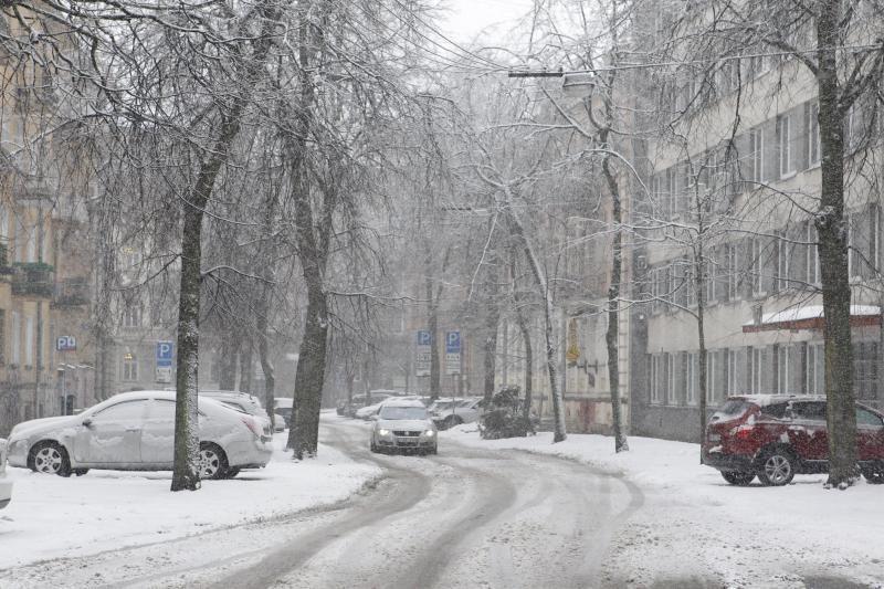 Vilnius ruošiasi smarkiam snygiui, tarnybos budės visą parą