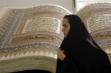 Musulmonų šeichai remia moterų teisę mušti vyrus