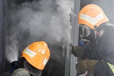 Soduose gaisrai kyla dėl neatsargumo