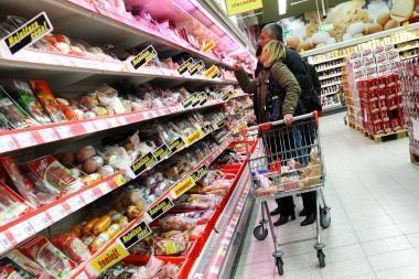 Pienas, daržovės ir kiti produktai dar brangs
