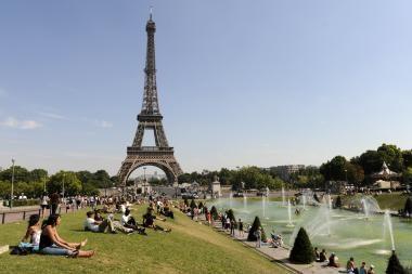 Europos laukia rekordiškai karšta vasara