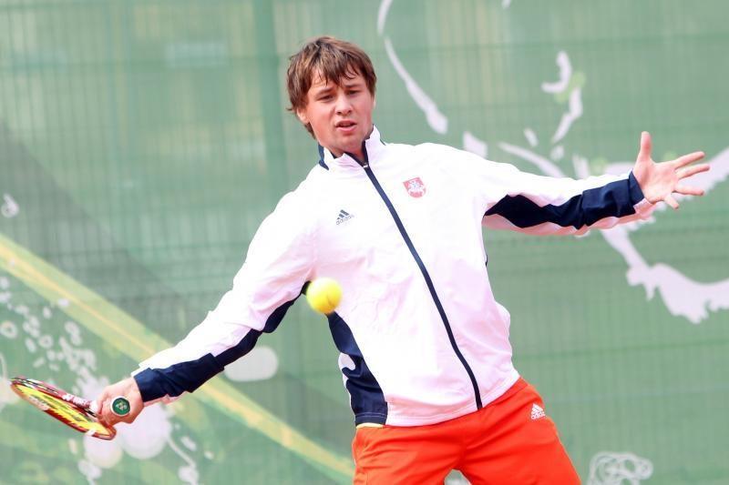 R.Berankis iškopė į turnyro Anglijoje ketvirtfinalį