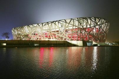 Pekine baigtas statyti olimpinis stadionas