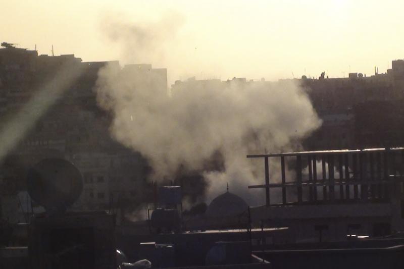 Sirijoje per mirtininko išpuolį žuvo septyni žmonės, sužeista apie 100