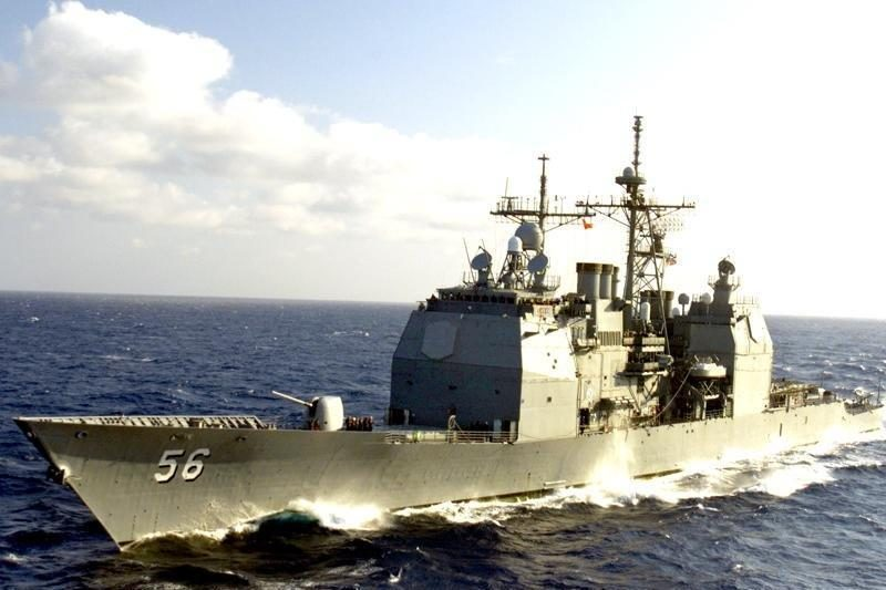 """Susidūrė JAV povandeninis laivas ir """"Aegis"""" kreiseris"""