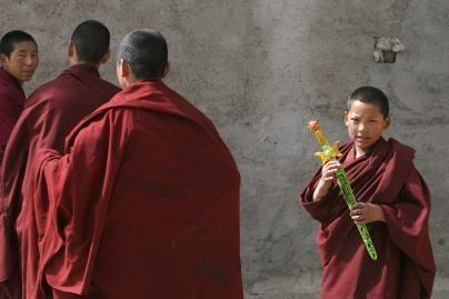 Vakarų Kinijos vienuolyne susidegino tibetiečių vienuolis