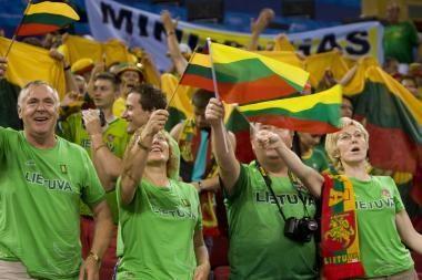 Grupėje Lietuva nežais su rusais, kroatais ir vokiečiais