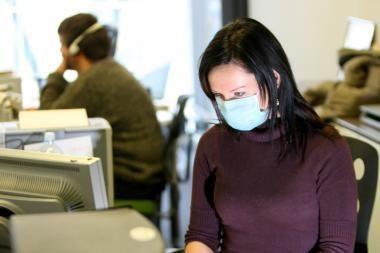 Daugėja sergančiųjų gripu