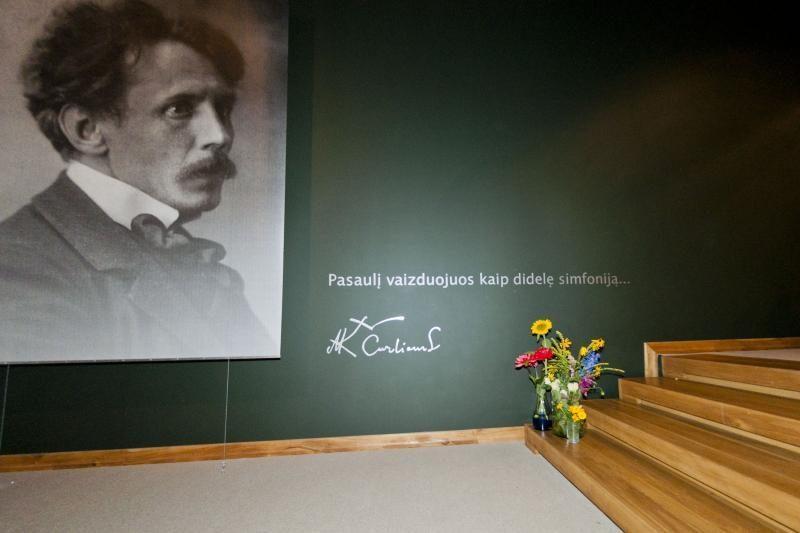 M.K.Čiurlionio gimimo dieną – staigmenos muziejaus lankytojams