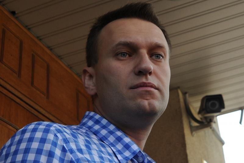 Rusijos opozicijos lyderis Navalnas pareiškė norą būti prezidentu