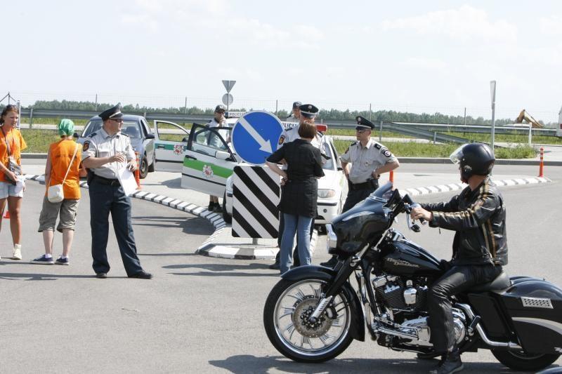 Policijos generalinis komisaras: policija per baikerių šventę dirbo puikiai