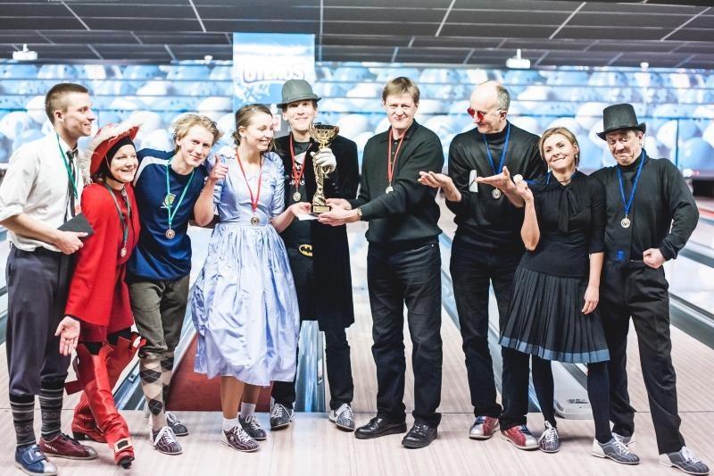 Kauno teatralų boulingo turnyre triumfavo Mažasis teatras