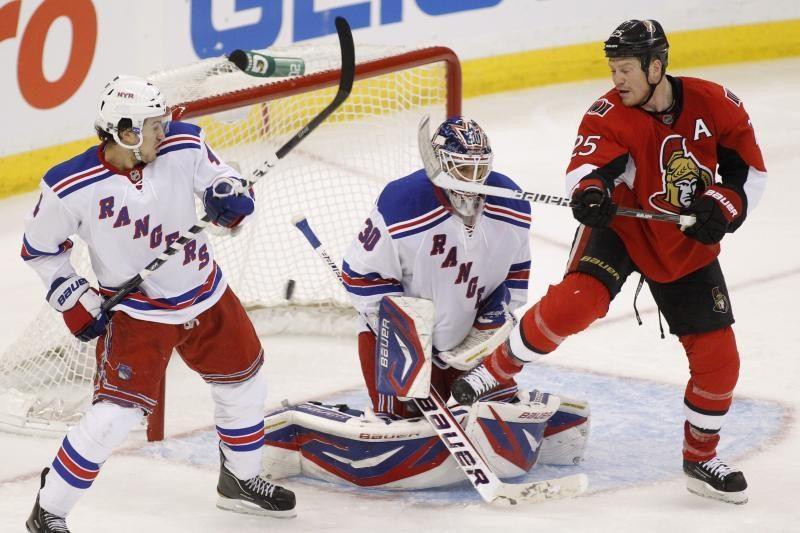 """""""Senators"""" laimėjo prieš """"Rangers"""" ir išlygino serijos rezultatą"""