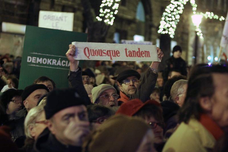 ET patariamoji institucija pasmerkė teisines reformas Vengrijoje