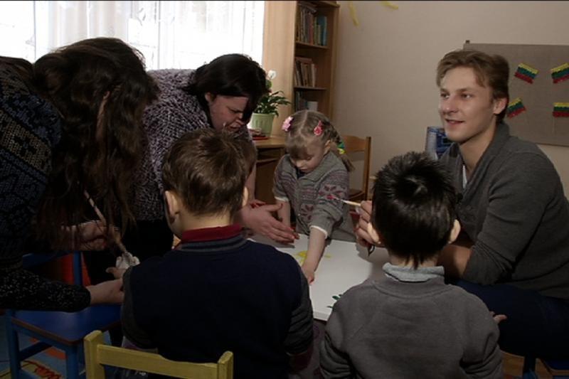 J. Lapatinskas: apsilankymas vaikų namuose – šventas reikalas