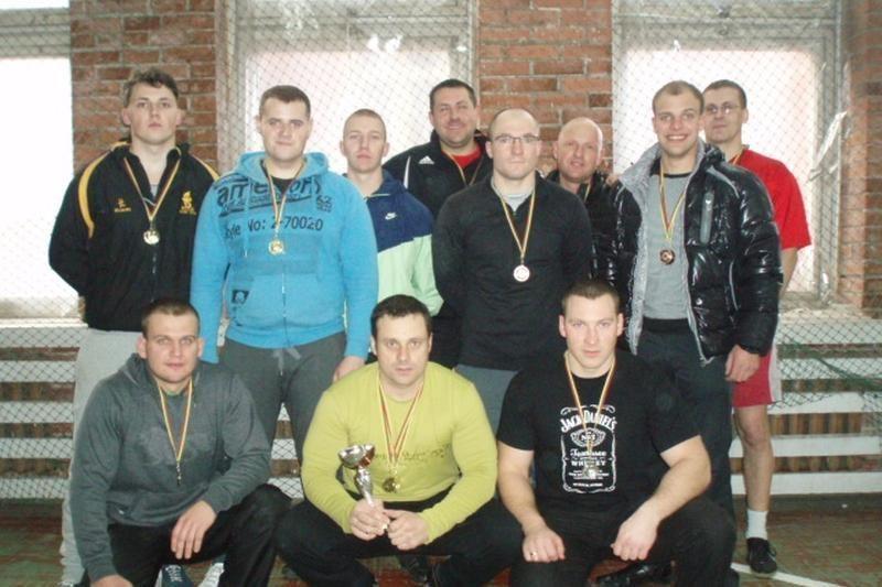 Varžėsi stipriausi Klaipėdos apskrities policijos pareigūnai