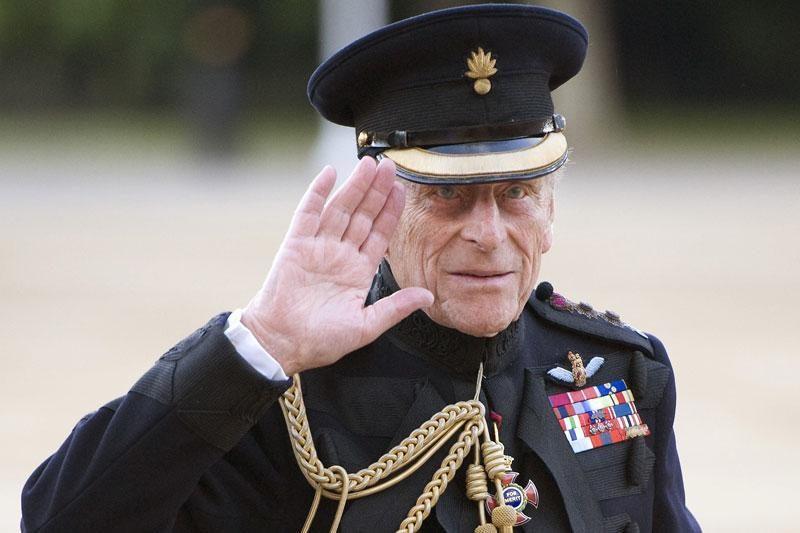 Britanijos princas Philipas atsidūrė ligoninėje