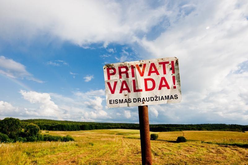 Skirtingų lūkesčių turinčius žemės savininkus pokyčiai tik supriešino