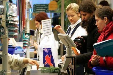 Vilniuje buvo sutrikusi atsiskaitymo banko kortelėmis sistema