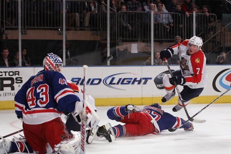 """""""Rangers"""" iškovojo dar vieną pergalę NHL"""