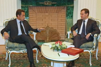 Rusijos ir Prancūzijos vadovai susitarė dėl taikos plano