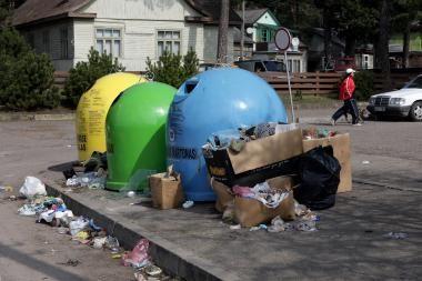 Už atliekų išvežimą Kaune mokės visi individualių namų savininkai