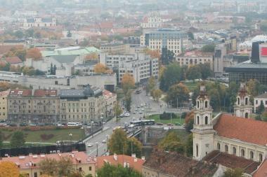 Vilnius rašytojų akimis: R.Gavelis (3)
