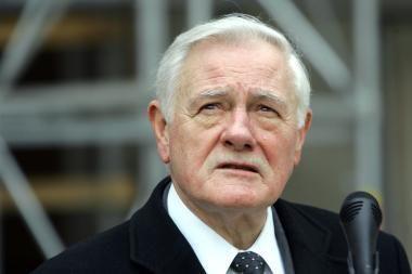 V.Adamkus: kaip lietuvis, aš nesutinku su dabartine pozicija dėl Gruzijos