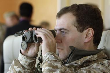 D.Medvedevas: A.Lukašenka žadėjo pripažinti Abchaziją ir Pietų Osetiją