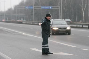 Policija stebės Kauno vairuotojus ir pėsčiuosius