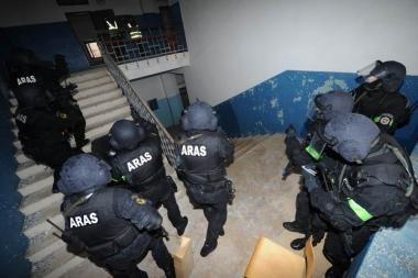 Vilniuje vyko tarptautinės antiteroristinių padalinių pratybos