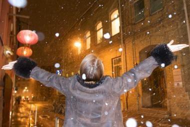 Sinoptikai per Kalėdas žada sniegą