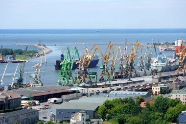 Didėja Klaipėdos uosto krova