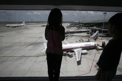 Vaiką pamiršo oro uoste