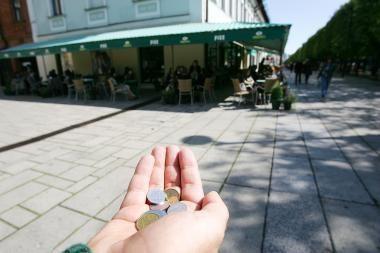 Bedarbių minia Kaune išaugo iki 35 tūkstančių