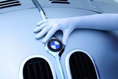 BMW automobiliai išmes mažiau anglies dvideginio